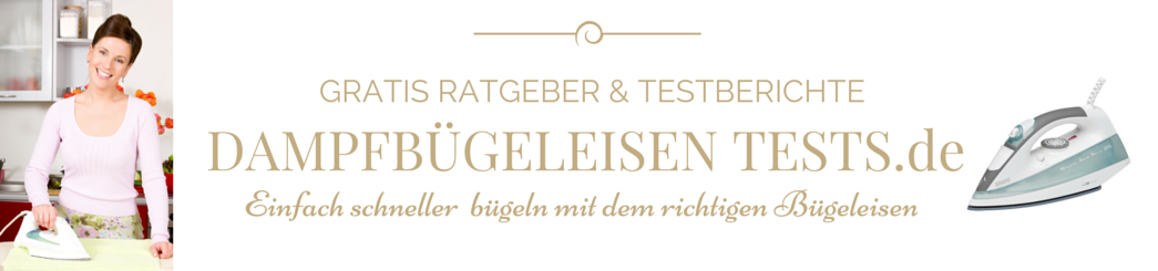 Dampfbuegeleisen Tests