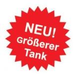 Neu größerer Tank bei Rotel